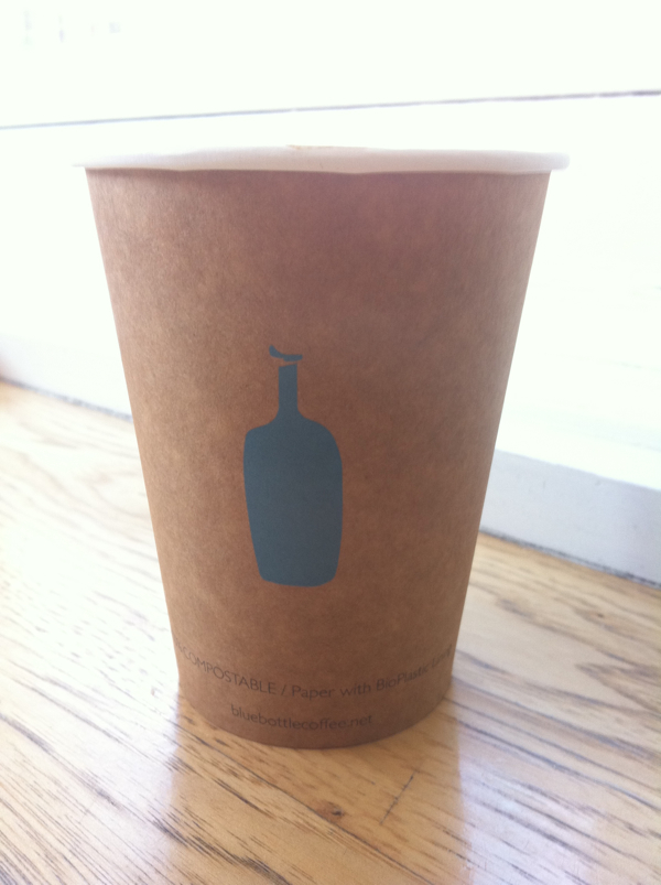 Coffee at The Blue Bottle in San Francisco