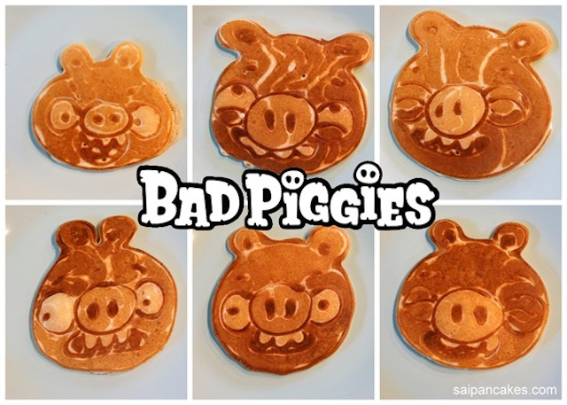 Bad Piggies pancakes